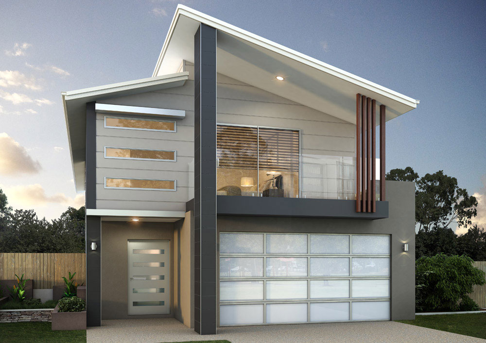 Balmoral 308 bold living for 9m frontage home designs