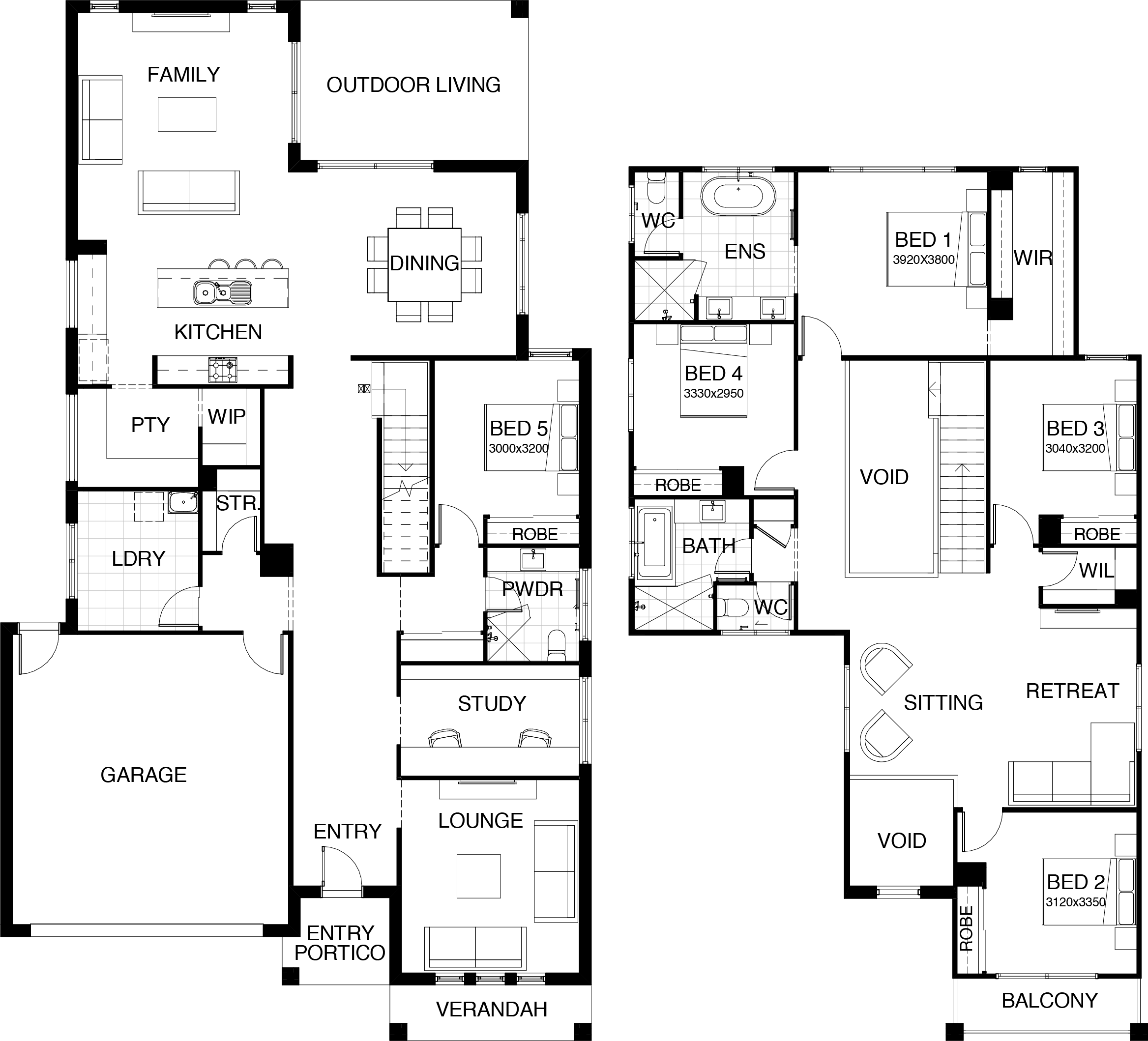 Kensington Collection - floor plan